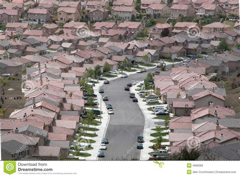 tract housing royalty free stock photo image 4666285