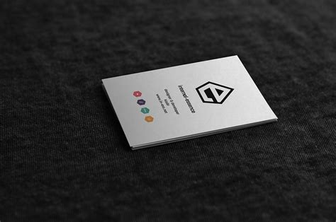 free psd mock up business card template free psd vector
