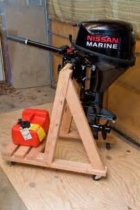 Design Your Own Home Perth build your own portable outboard motor stand