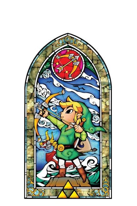 wind waker zelda pattern zelda wind waker and stained glass on pinterest