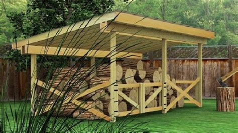 Free Pole Barn Plans Blueprints by 10 Wood Shed Plans To Keep Firewood Dry The Self