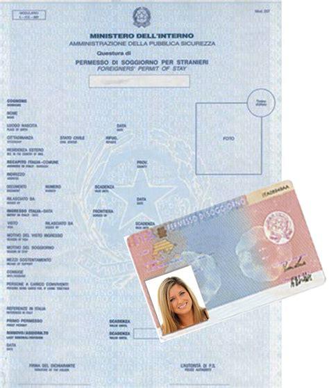 permesso di soggiorno italia permesso di soggiorno americani in italia idee per il