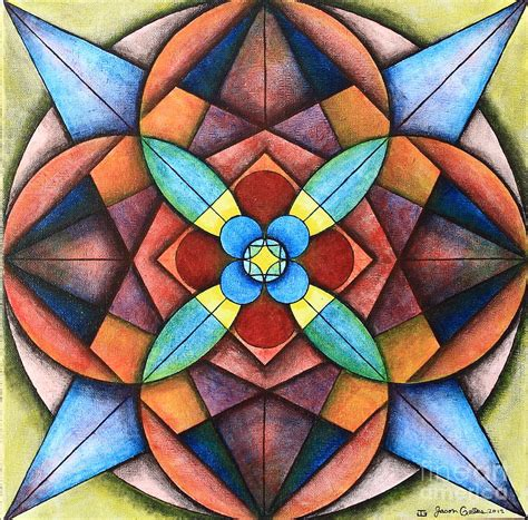 symmetry painting geometric symmetry painting by jason galles