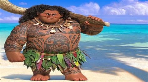disney depiction of obese polynesian god in film moana