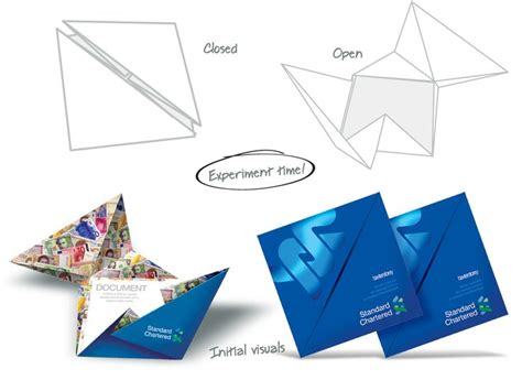 How To Make A Brochure Out Of Paper - 7 best images about origami brochure on