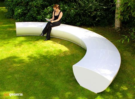 serpentine modular seating contemporary grp fibreglass