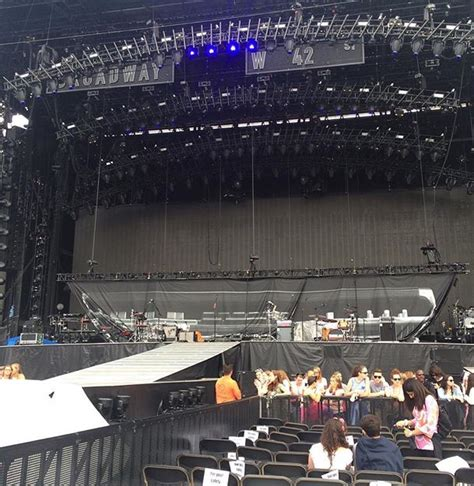 taylor swift concert snake pit gillette stadium field a3 concert seating rateyourseats