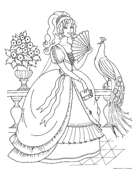 princess coloring pages 7 princess colouring pages part 1