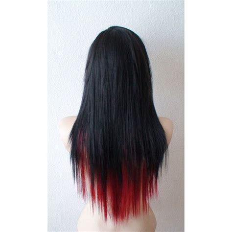 emo hairstyles wigs scene wig black wine red scene hairstyle wig emo wig