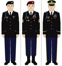 us army class a service uniform by tenue de canada