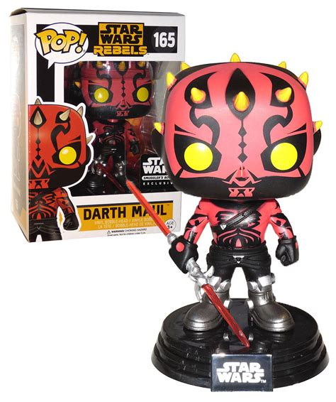 star wars a pop 0439882826 funko pop star wars rebels darth maul variant 165 exclusive mint condition your solution for