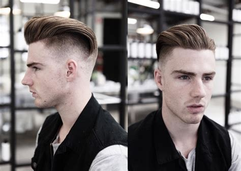 mens haircuts melbourne cbd undercut quiff medium length