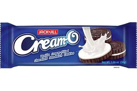 jack  jill cream  sandwich cookies vanilla
