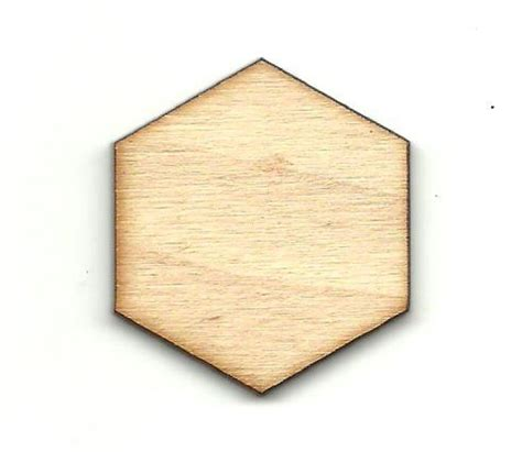 unfinished wood hexagon unfinished wood shapes craft supplies ornament