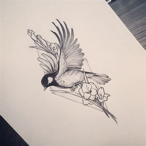 bird and flower tattoo best 25 bird tattoos ideas on feather tattoos