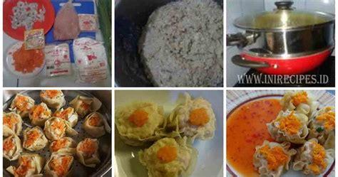 resep membuat siomay wortel resep membuat siomay daging ayam praktis dan enaaak
