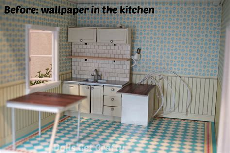 dollhouse kitchen wallpaper the lundby diy doll s house experience with giveaway