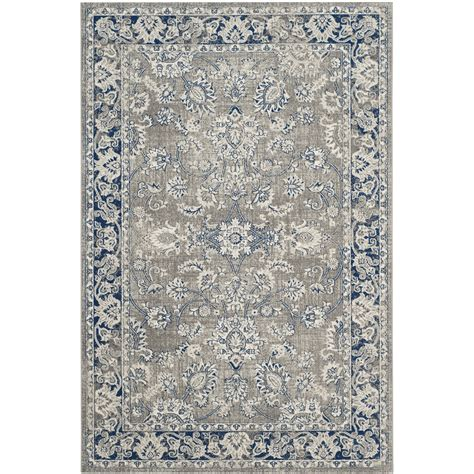 blue and gray rug darby home co harwood gray blue area rug reviews wayfair
