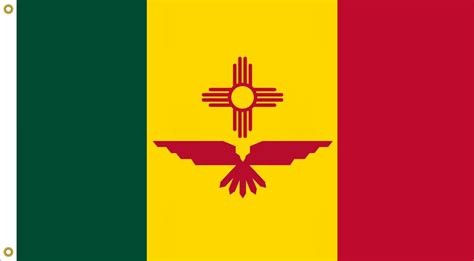 new mexico state colors image new mexico state flag no 2b designed by