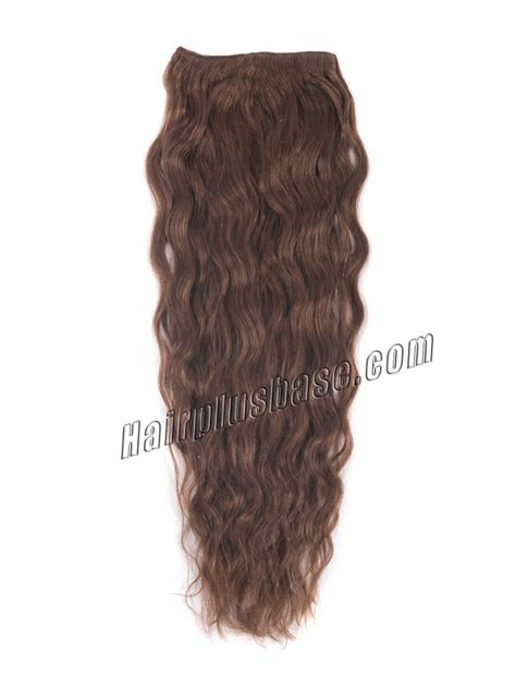 18 inch wavy hair extensions 18 inch 33 auburn clip in hair extensions