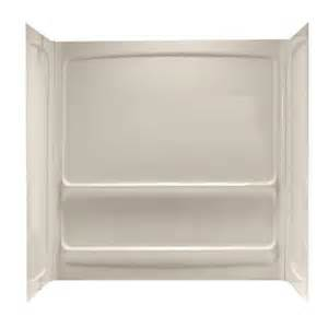 home depot tub surround american standard acrylux 60 in x 30 in x 60 in three