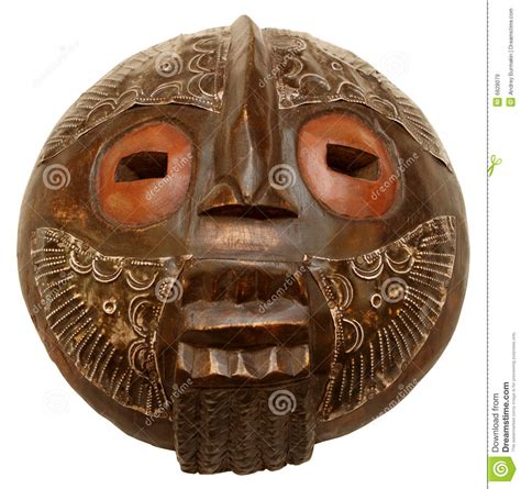 Masker Tiff het afrikaanse masker stock afbeelding afbeelding