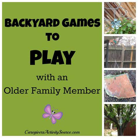 Backyard Play Backyard To Play With An Family Member