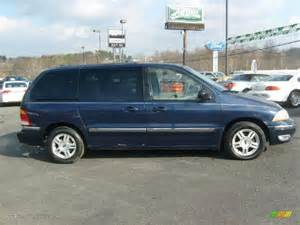true blue metallic 2002 ford windstar se exterior photo