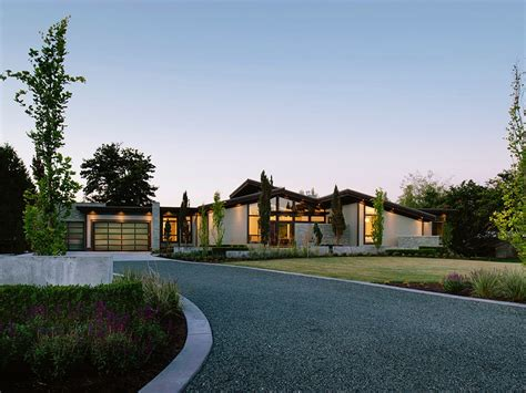 home design for rural area 30 homes that show off their top notch modern driveway
