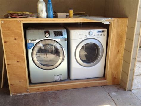 washer dryer enclosure amazing washer and dryer closet outdoor roselawnlutheran