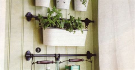 indoor herb garden with fintorp rail and hooks ikea fintorp rail accessories for indoor herb garden