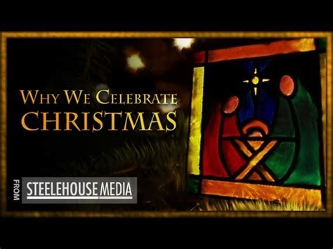 why we celebrate christmas youtube
