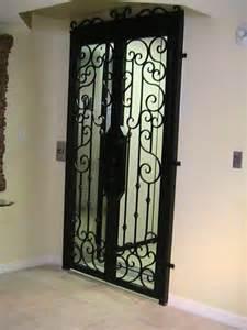 Iron Interior Doors Forge Iron Designs Wrought Iron Elevator Door