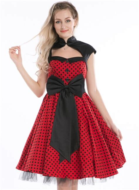 Swing Kleid Polka Dots by Rockabilly Dress Picture More Detailed Picture About