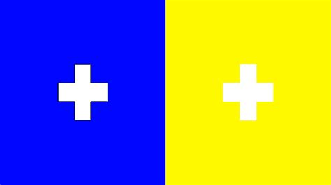 Blue Yellow Colors file impossible colors blue and yellow for 3dtv png