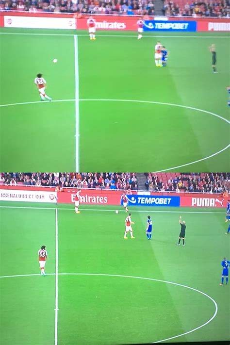 arsenal offside fans can t work out if mike dean should have blown up for