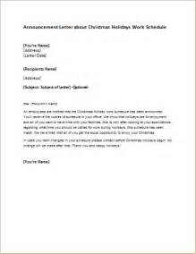 vacation or leave of absence approval letter