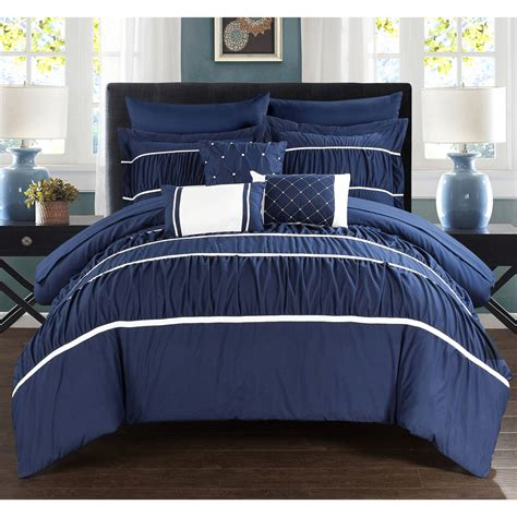 10 piece comforter set wanda 10 piece wanda bed in a bag bedding comforter set ebay