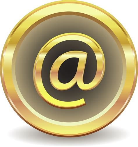 email at clipart email at sign