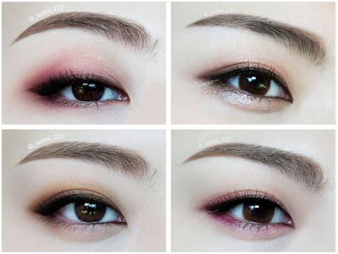 tutorial eyeshadow wardah seri i step by korean eye makeup saubhaya makeup