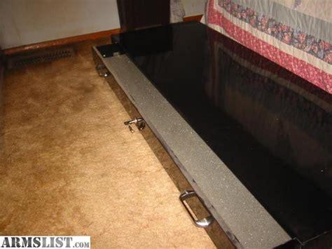 under bed gun safe armslist for sale under bed 2 gun safe