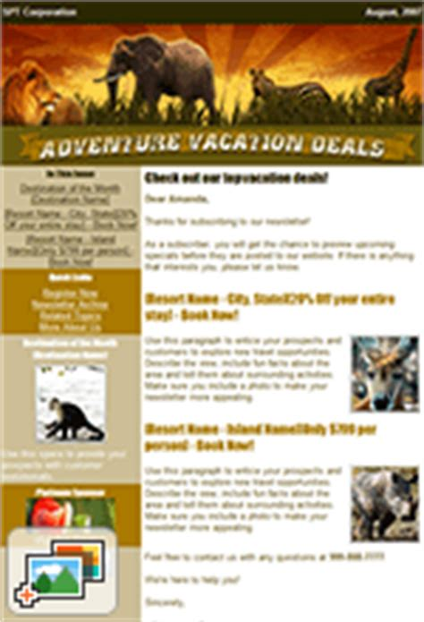 travel newsletter templates travel newsletter flashissue flashissue