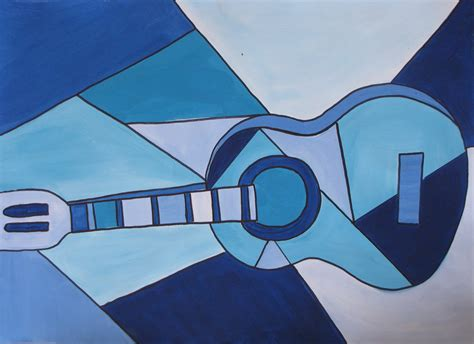 picasso paintings blue do picasso blue guitar project