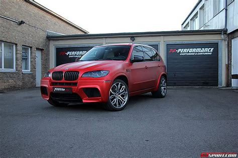matte bmw x5 official anodized matte red bmw x5 m by fostla de gtspirit