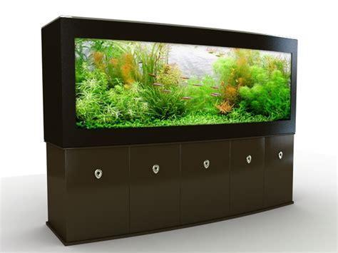 Big aquarium for home 3d model 3ds max files free download