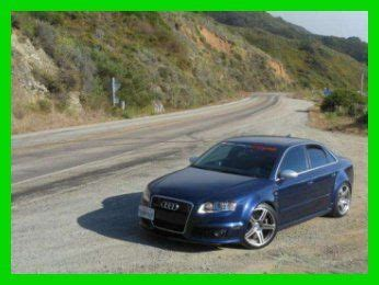 Audi Rs4 Supercharged For Sale by Buy Used 2007 Audi Rs4 Quattro 4 2l V8 32v Apr