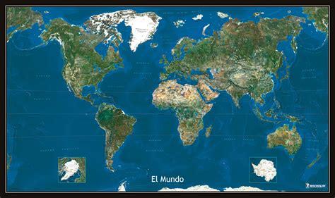 imagenes via satelite mapa mundial via satelite