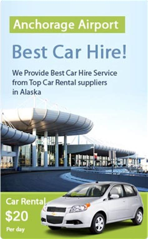 car rental anchorage  price car hire services