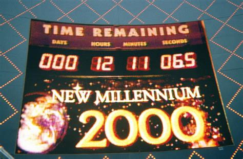 new year 2000 year of the las vegas new years 2000
