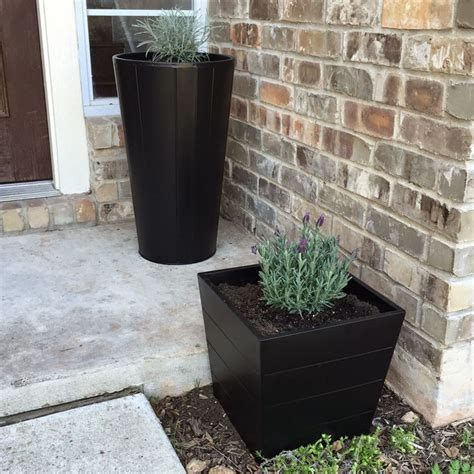 ikea outdoor planters ikea gr 196 set plant pots with licorice plant and lavender to